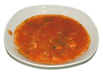 Langostinos en salsa